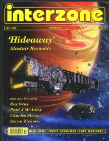 An Interzone cover with one of my stories in it - always a thrill.